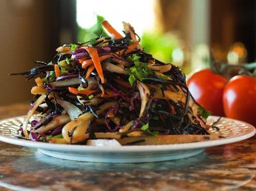 Savory Arame Seaweed Salad