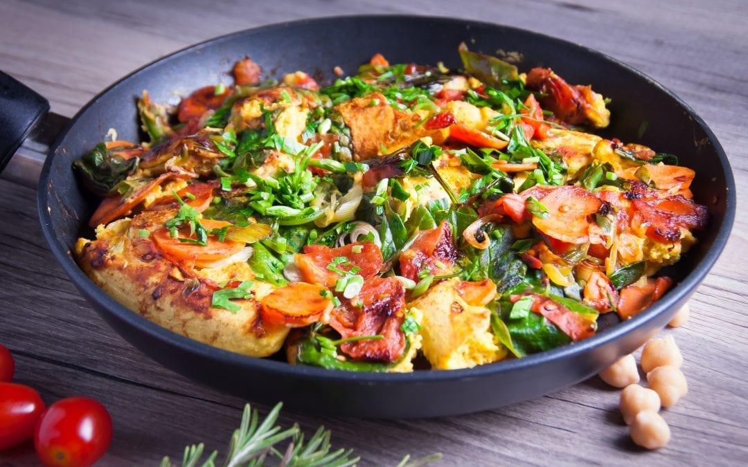 Lush Chickpea Flour Omelette