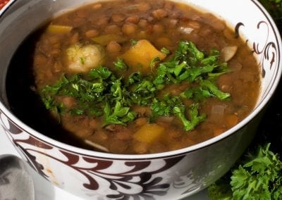 Delicious Hearty Lentil Soup
