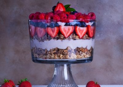 Fruit Parfait For The Whole Family
