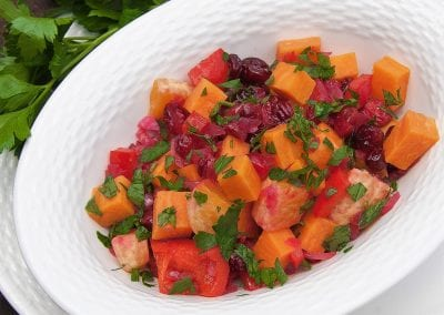 Sweet Potato Citrus Salad